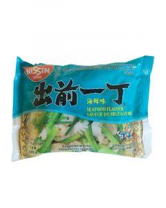 Nissin Instant Nudeln Meeresfrüchte Geschmack 100g