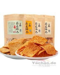 Wolong Knusprige Kruste mit Rindfleisch Geschmack 100g
