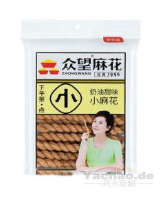 ZhongWang Kringel-Kekse mit Sahnegeschmack 130g